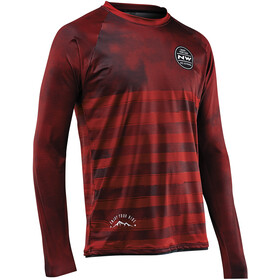 Northwave Enduro MTB Maillot à manches longues Homme, mineral red
